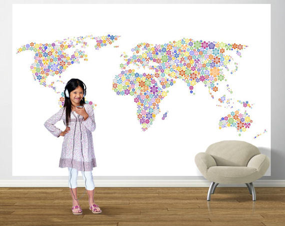 5 World Map Decor Ideas