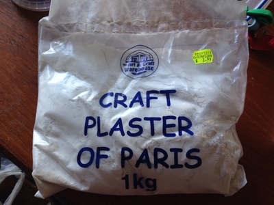 Craft plaster of paris