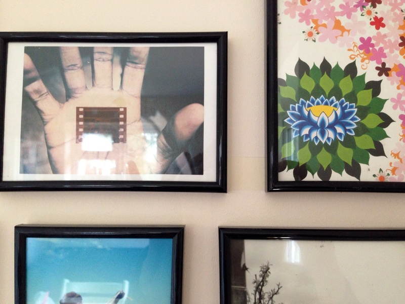 Photo Frame Collage How To Hang Lots Of Frames Photo