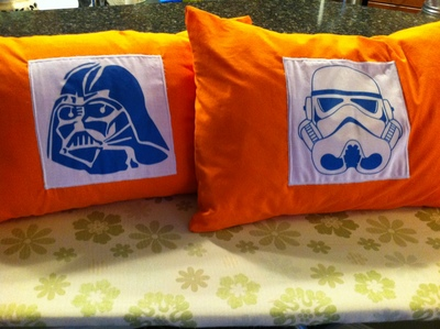 completed pillows