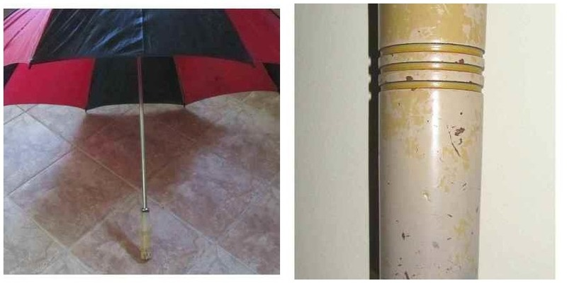 Easy Umbrella Makeover