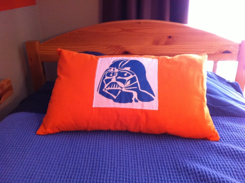 Finished pillow  - Star Wars Pillow Cover