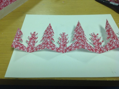 Christmas papers, craft paper