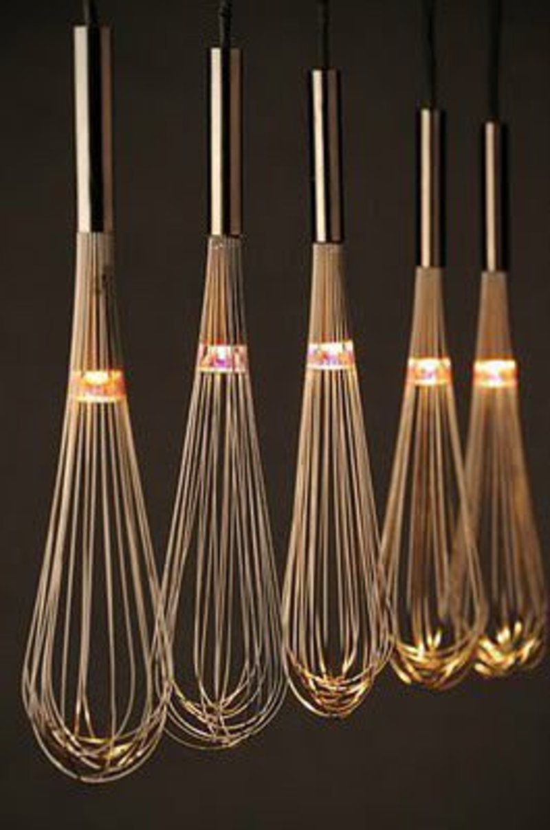 Kitchen Whisks Light Fixture