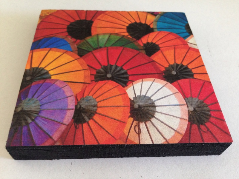 Laos umbrellas, colourful umbrellas