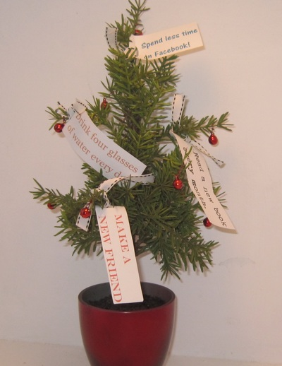 New Year's Resolution Tree