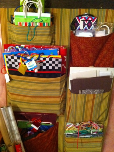 organizer with bags