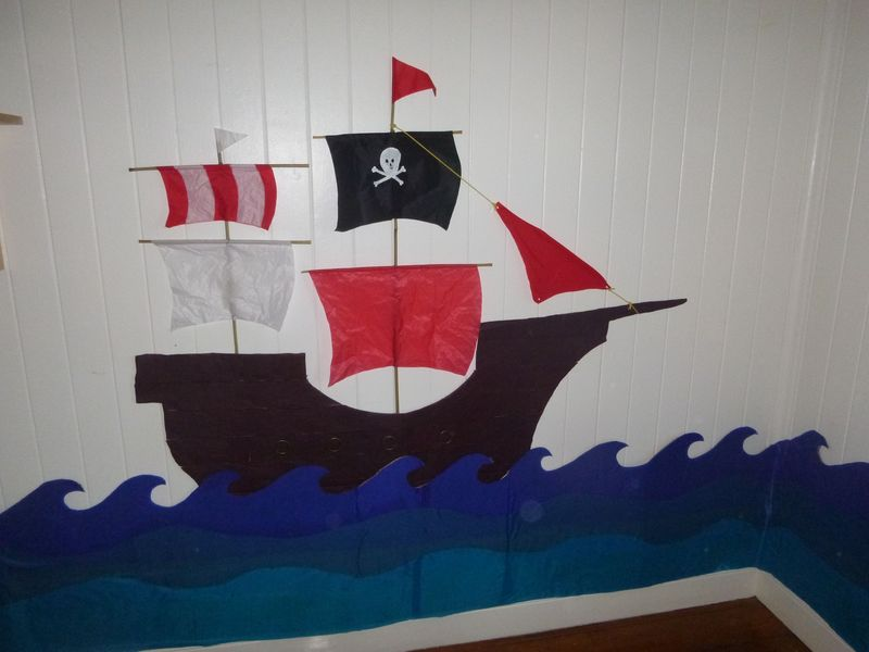 Fantastic Pirate Ship Kids Bedroom Pirate Room Decor Kids Room Download Free Architecture Designs Terchretrmadebymaigaardcom