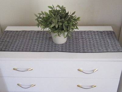 Scarf Used as Table Runner