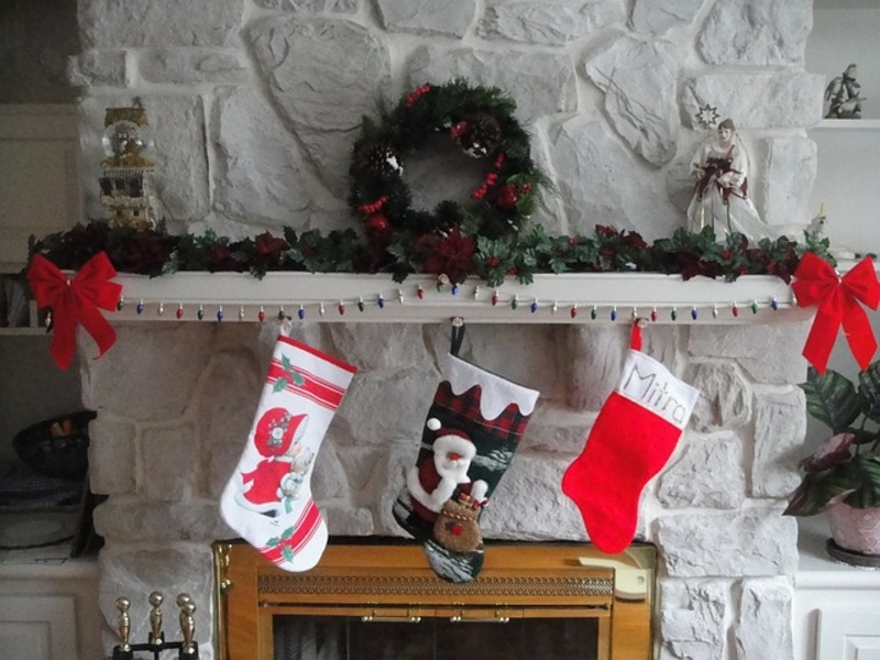 porch wreath  - Unique Ways to Decorate Your Home for Christmas