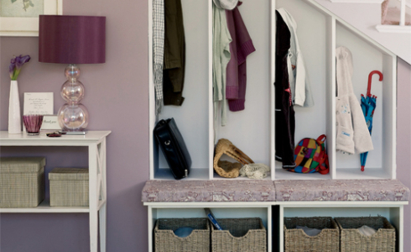 Storage under stairs  - Space Saving Ideas for Your Stairs