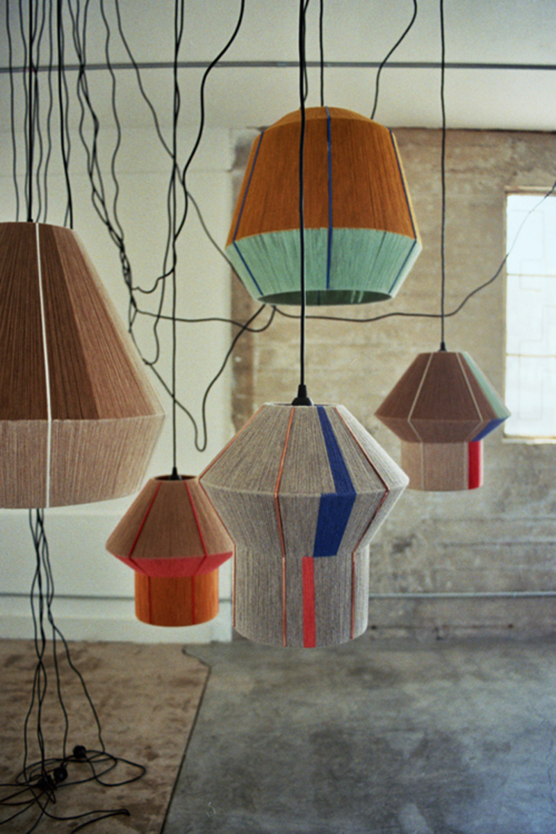Twine & Wool DIY Lampshade