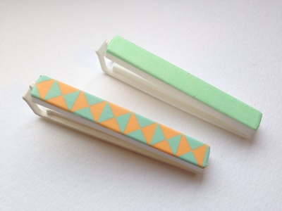 Washi tape chip clips, washi tape kitchen clips, washi tape craft ideas