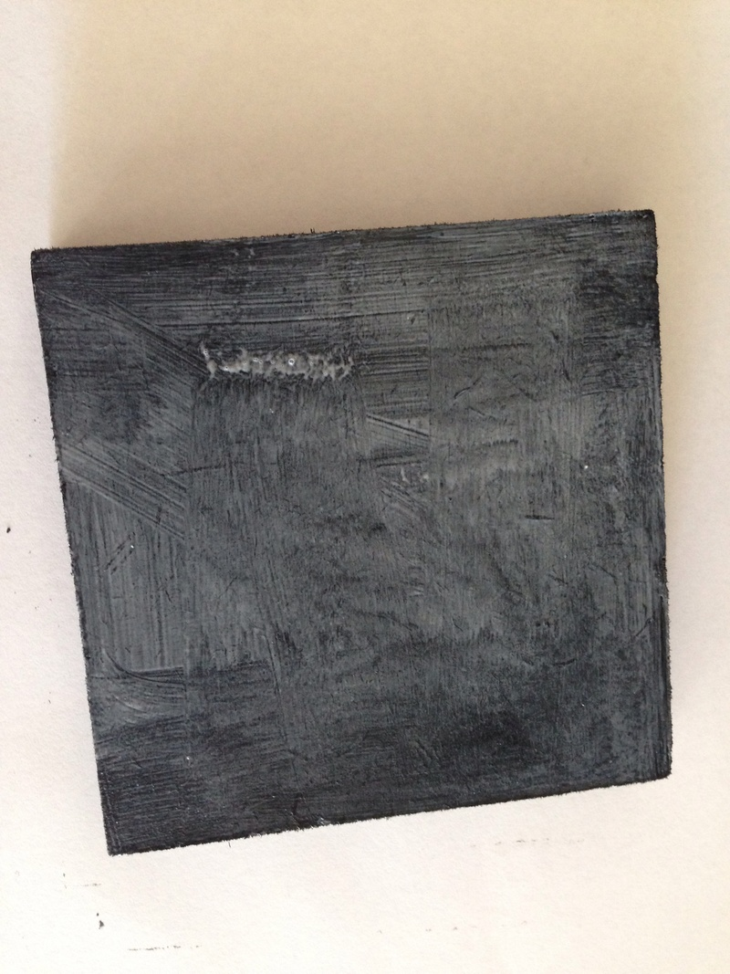 How to mount a picture on a wood block, wood block picture tutorial, photo on wood  - Wood Block Picture